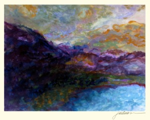 """""""every mountain"""" 17"""" x 21"""" watercolor SOLD giclée prints available"""