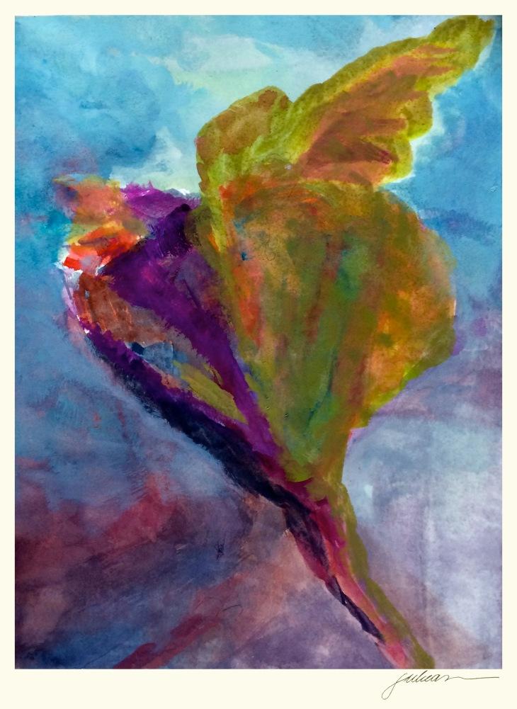 """sophia"" 8"" x 10"" watercolor $90"
