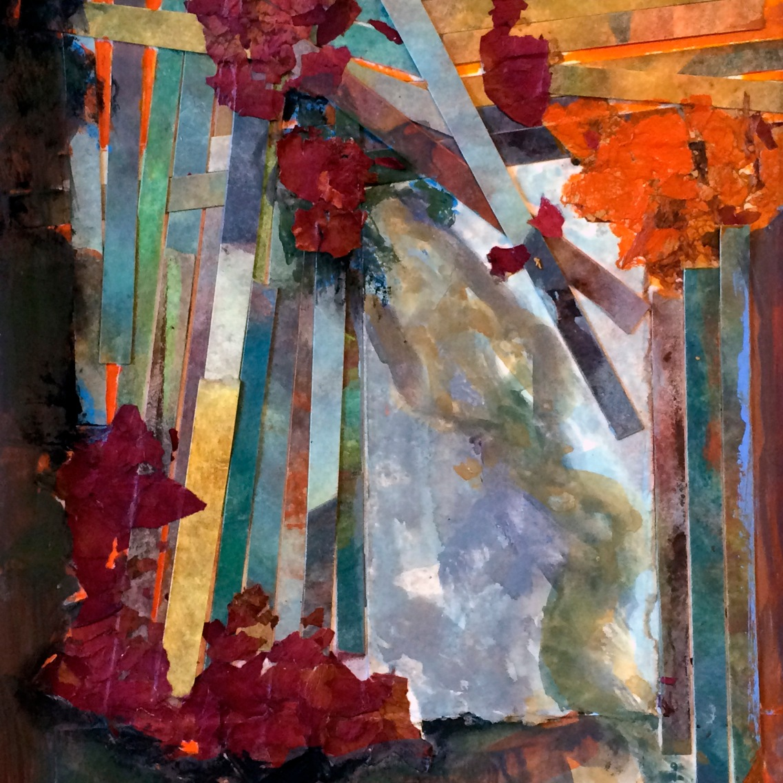 """""""As the Father Sent Me"""" 8"""" x 10"""" mixed media NFS"""